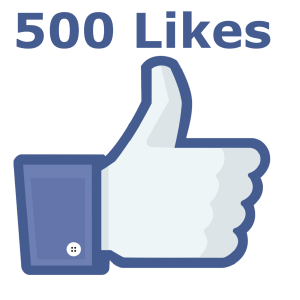 500 FB Likes